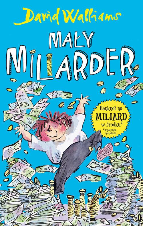 okładka Mały miliarder, Książka | Walliams David