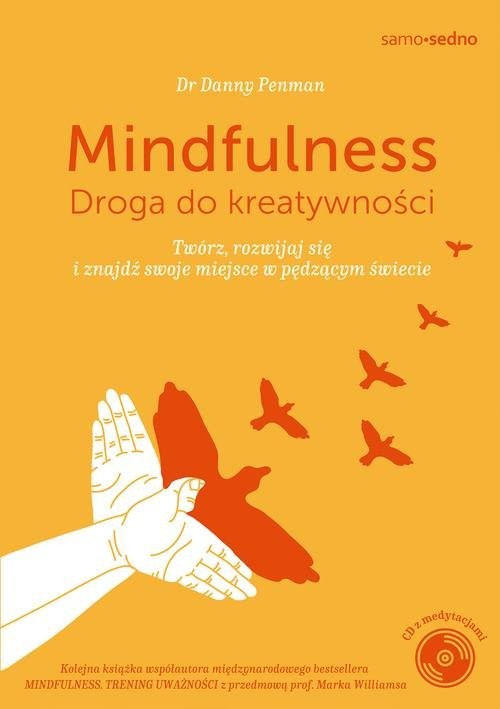 okładka Mindfulness Droga do kreatywności, Książka | Penman Danny