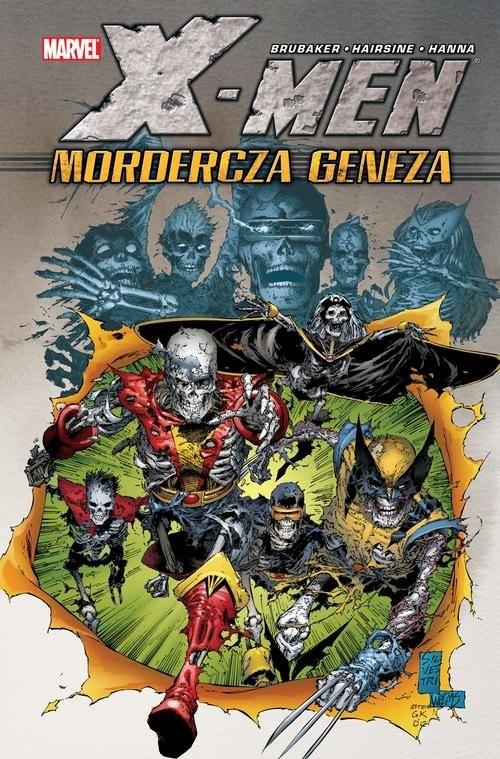 okładka X-Men - Mordercza geneza Marvel Classicksiążka |  | Ed Brubaker