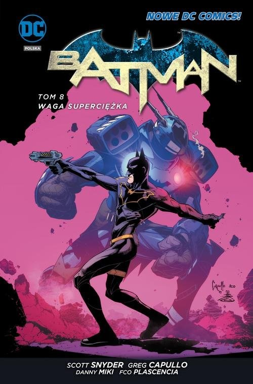 okładka Batman - Waga superciężka Tom 8, Książka | Scott Snyder