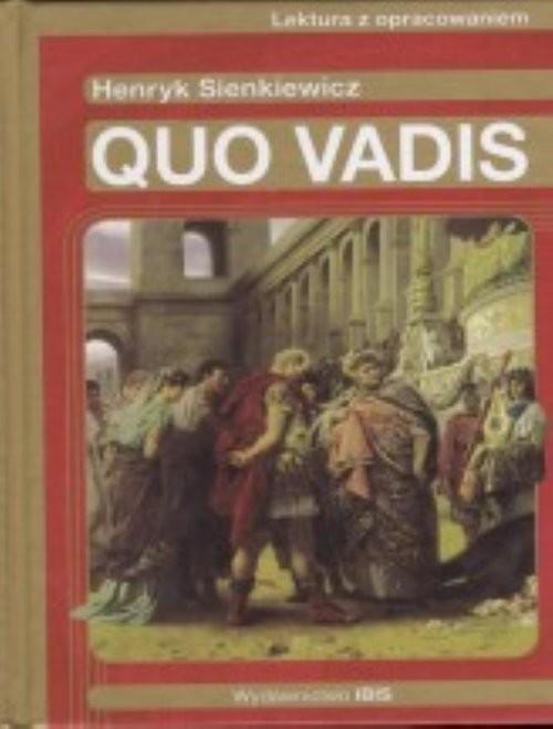 okładka Quo vadis, Książka   Henryk Sienkiewicz