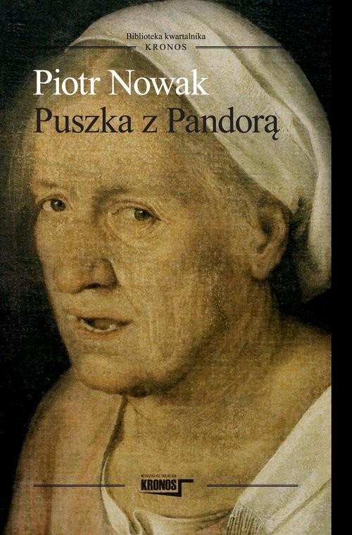 okładka Puszka z Pandorą, Książka | Nowak Piotr