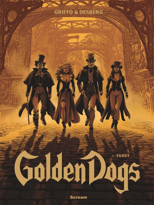 okładka Golden Dogs Tom 1 Fanny, Książka |