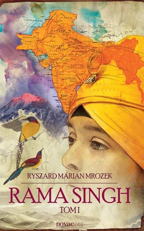 okładka Rama Singh Tom 1, Książka | Ryszard Marian  Mrozek