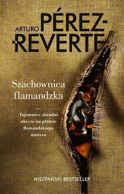 okładka Szachownica flamandzka, Książka | Perez-Reverte Arturo
