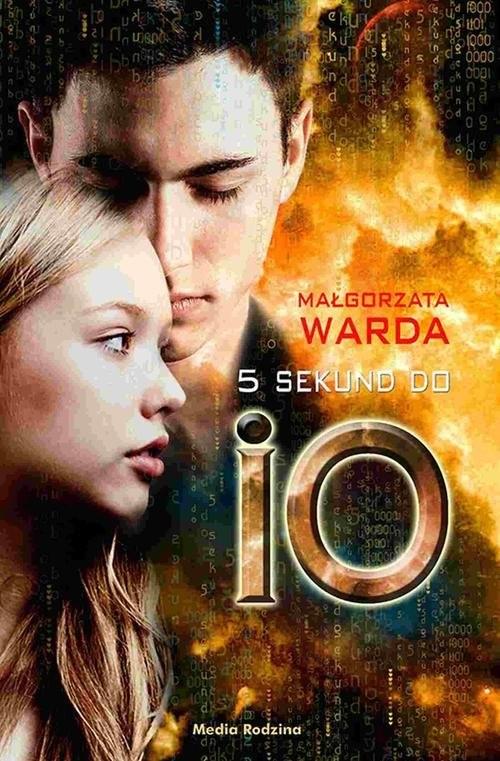 okładka 5 sekund do IO, Książka | Małgorzata Warda