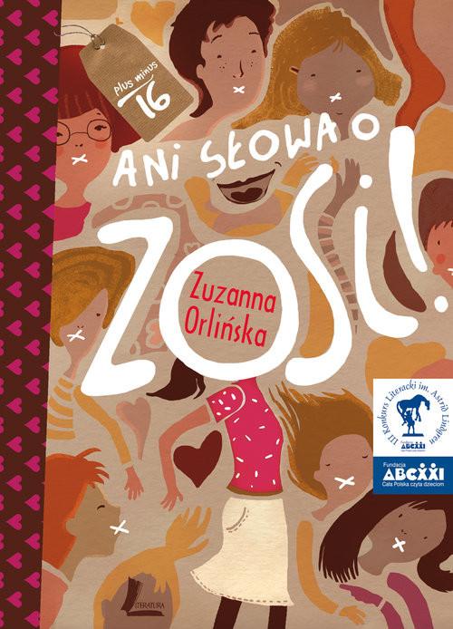 okładka Ani słowa o Zosi, Książka | Orlińska Zuzanna