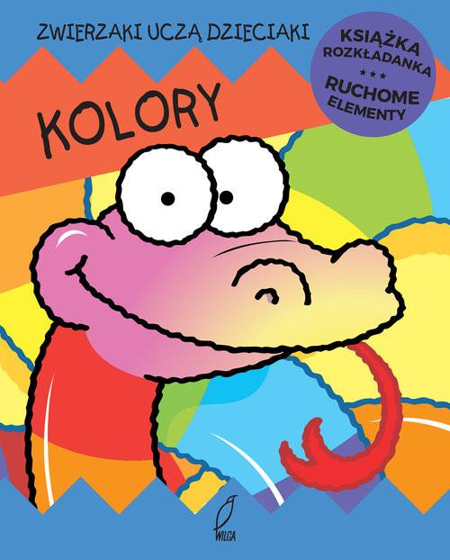 okładka Kolory Ruchome elementy Książka rozkładanka, Książka | Jan Kazimierz Siwek