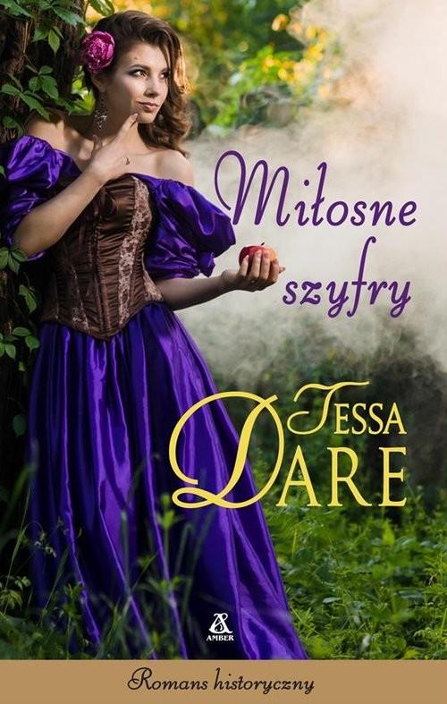 okładka Miłosne szyfry, Książka   Tessa Dare