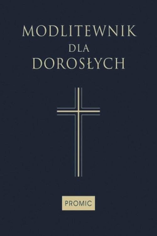 okładka Modlitewnik dla dorosłych granatowy, Książka  