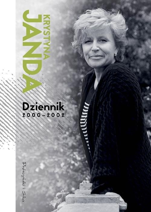 okładka Dziennik 2000-2002, Książka | Janda Krystyna