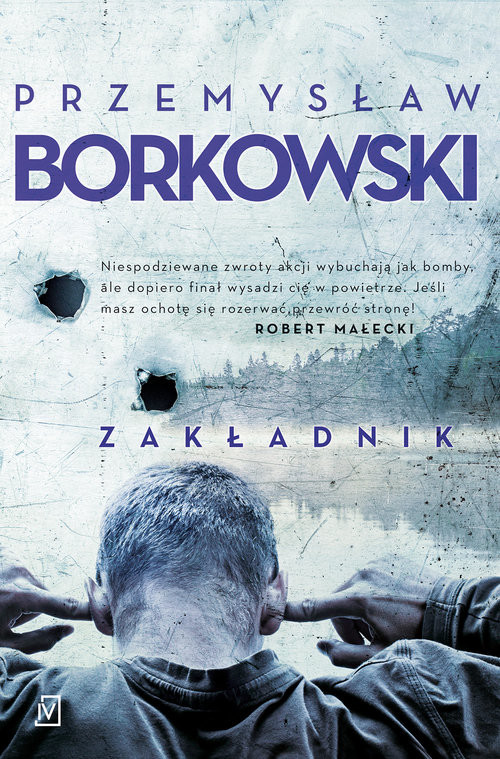 okładka Zakładnik, Książka | Borkowski Przemysław