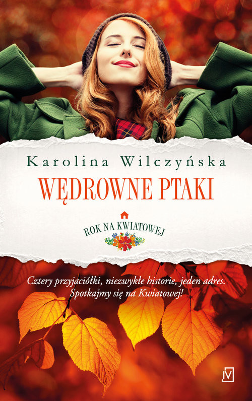 okładka Rok na Kwiatowej Tom1 Wędrowne ptakiksiążka |  | Karolina Wilczyńska