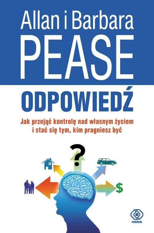 okładka Odpowiedź, Książka | Allan Pease, Barbara Pease