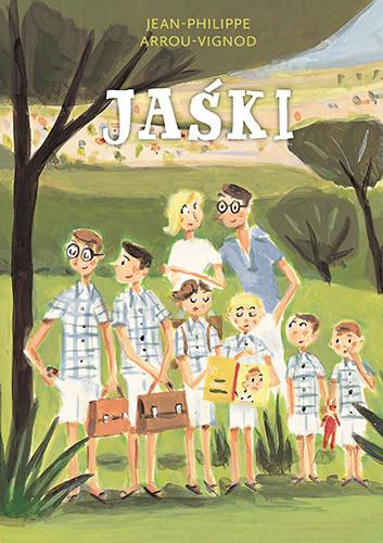 okładka Jaśki, Książka | Jean-Philippe Arrou-Vignod