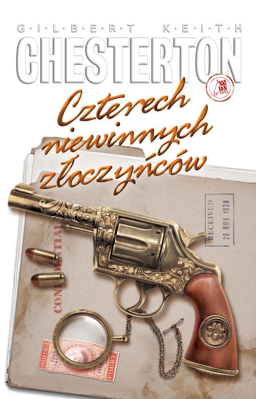 okładka Czterech niewinnych złoczyńcówksiążka |  | Gilbert Keith  Chesterton
