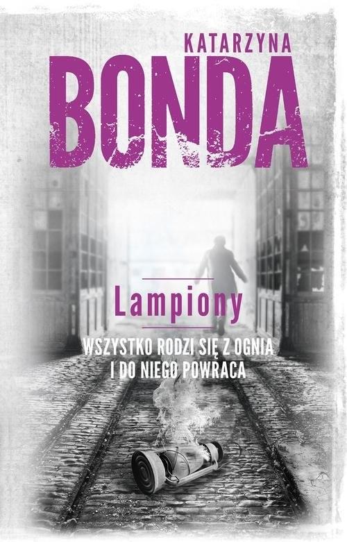 okładka Lampiony, Książka | Bonda Katarzyna