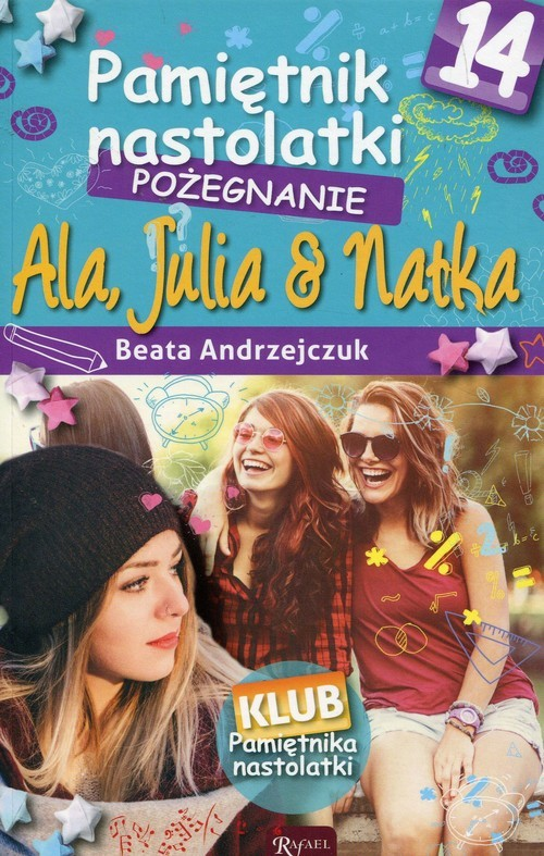 okładka Pamiętnik nastolatki 14 Pożegnanie, Książka | Beata Andrzejczuk