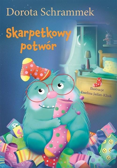 okładka Skarpetkowy potwór, Książka | Dorota Schrammek