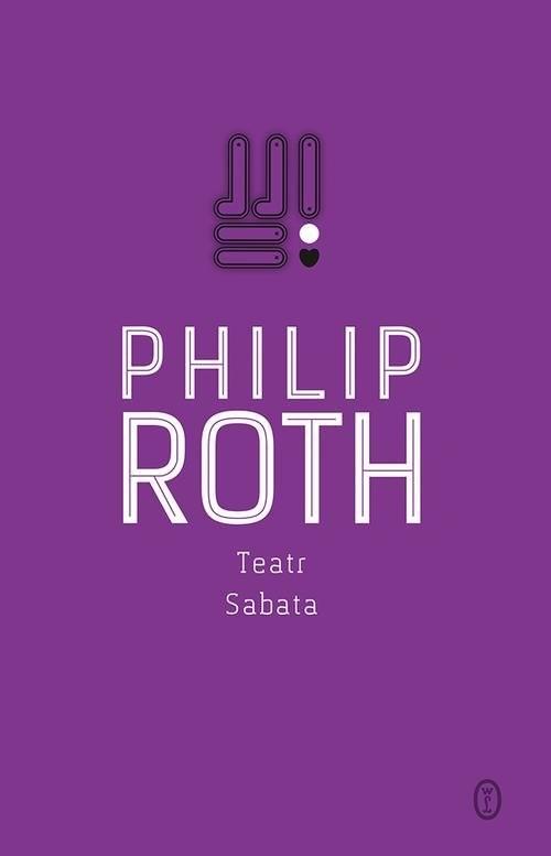 okładka Teatr Sabata, Książka   Philip Roth
