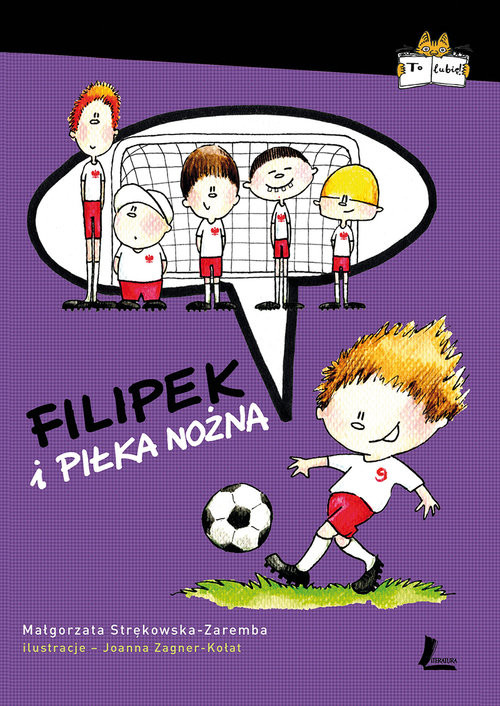 okładka Filipek i piłka nożna, Książka | Strękowska-Zaremba Małgorzata