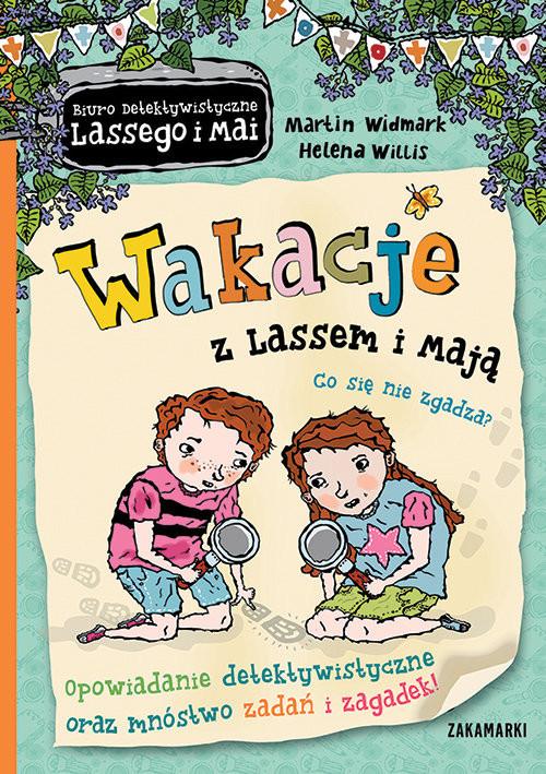 okładka Wakacje z Lassem i Mają Co się nie zgadza?, Książka | Widmark Martin