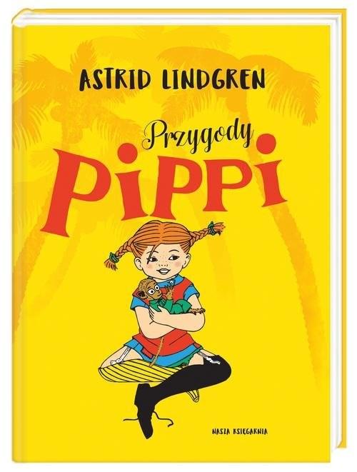 okładka Przygody Pippi, Książka | Lindgren Astrid