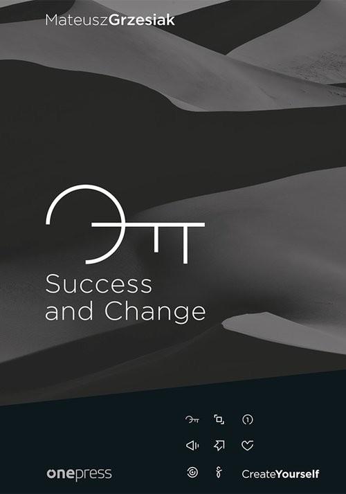 okładka Success and Change, Książka   Grzesiak Mateusz