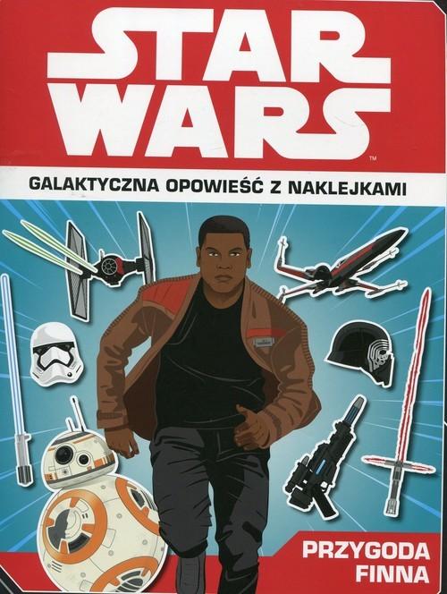 okładka Star Wars Przygoda Finna Galaktyczna opowieść z naklejkamiksiążka |  | Emily Stead, Emil Fortune