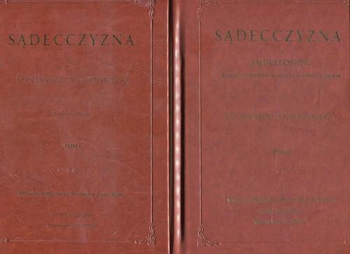 okładka Sądecczyzna Tom 1-2 Pakiet, Książka |