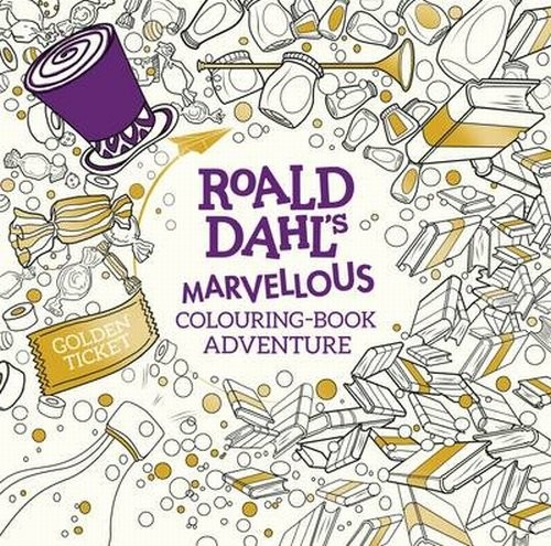 okładka Roald Dahl's Marvellous Colouring-Book Adventure, Książka | Dahl Roald