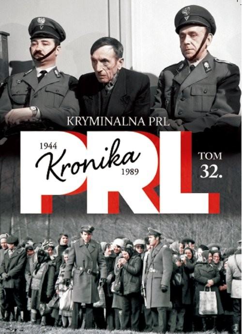 okładka Kryminalna PRL, Książka |