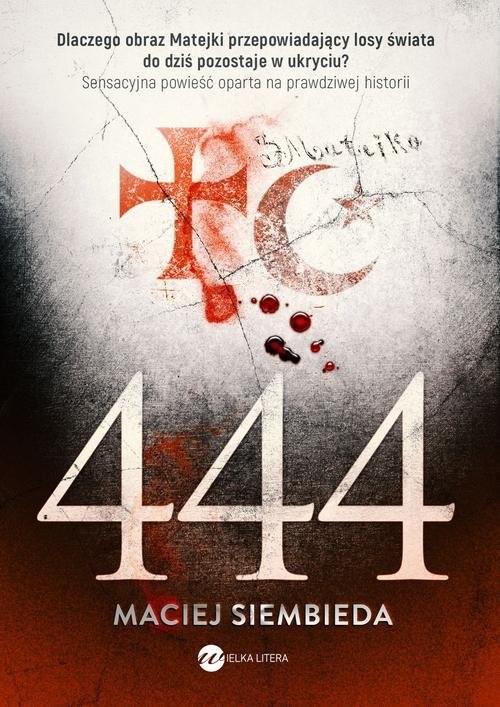 okładka 444, Książka | Maciej Siembieda