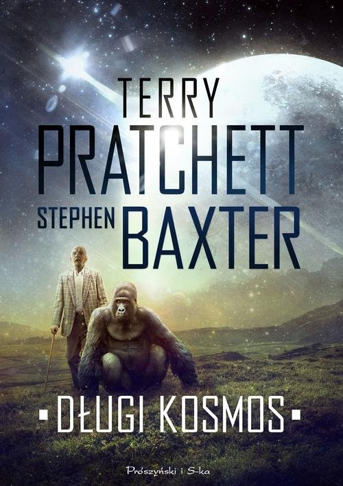 okładka Długi kosmosksiążka |  | Stephen Baxter, Terry Pratchett