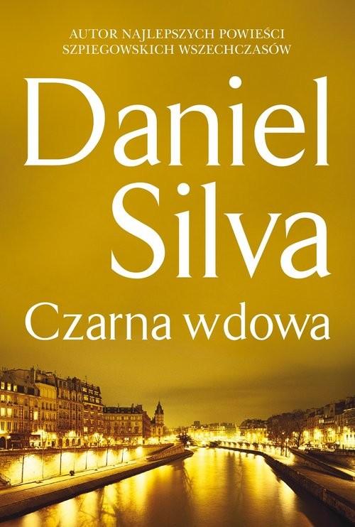 okładka Czarna wdowa, Książka | Daniel Silva
