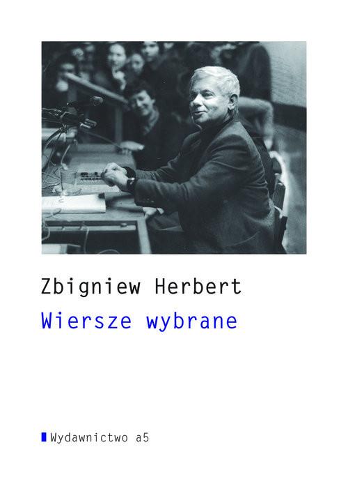 okładka Wiersze wybrane +CD, Książka | Herbert Zbigniew