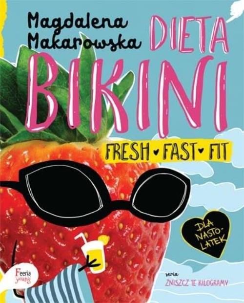 okładka Dieta bikini, Książka | Makarowska Magdalena