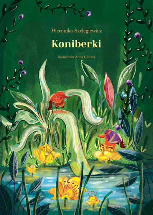okładka Koniberki, Książka | Szelęgiewicz Weronika