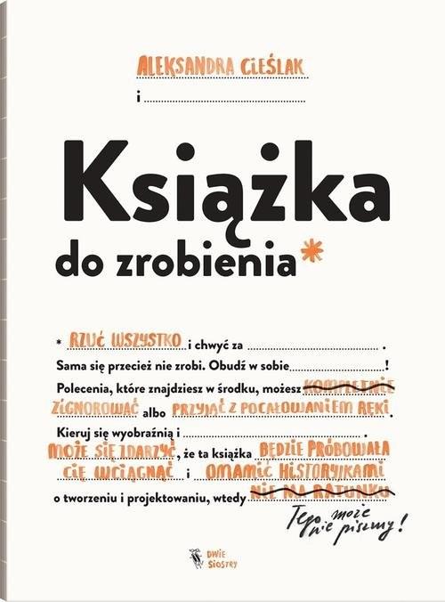 okładka Książka do zrobienia, Książka | Cieślak Aleksandra