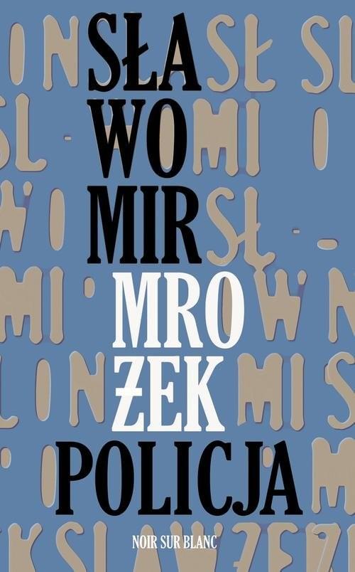 okładka Policja, Książka | Mrożek Sławomir