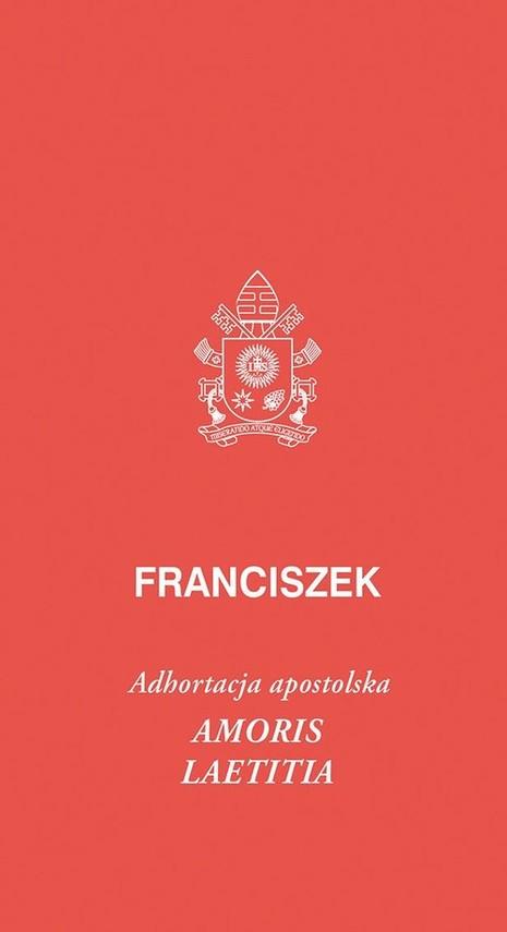 okładka Amoris laetitia Amoris laetitia, posynodalna adhortacja apostolska, Książka | Papież Franciszek