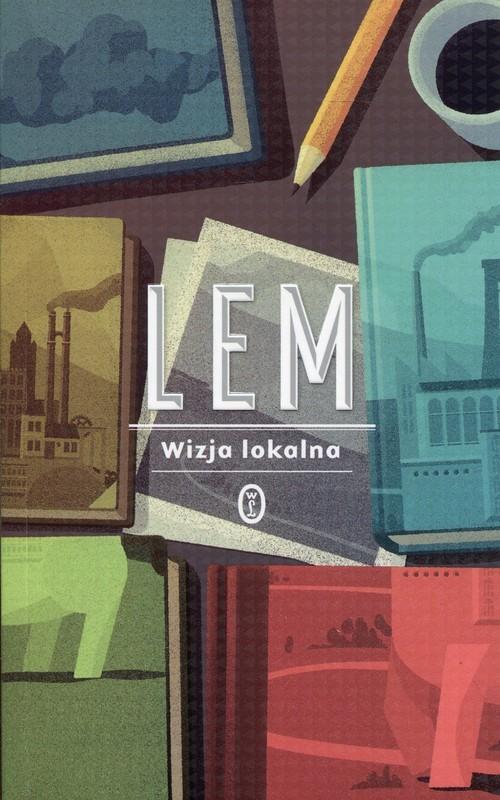 okładka Wizja lokalna, Książka | Stanisław Lem