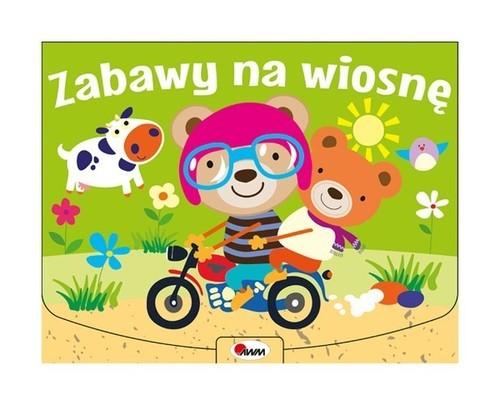 okładka Zabawy na wiosnę, Książka  