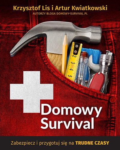 okładka Domowy survival, Książka | Krzysztof Lis, Artur Kwiatkowski