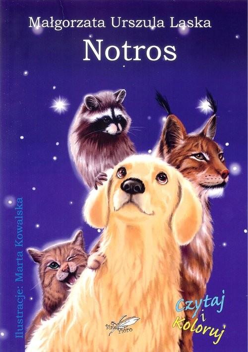 okładka Notros, Książka   Małgorzata Urszula Laska