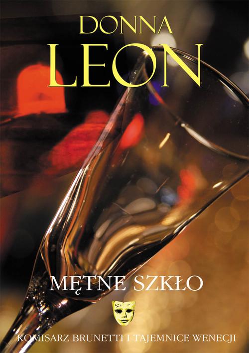 okładka Mętne szkło, Książka | Donna Leon