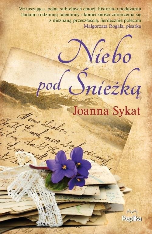 okładka Niebo pod Śnieżką, Książka | Joanna Sykat