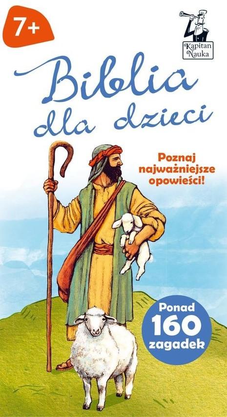 okładka Biblia dla dzieci Opowieści + zagadki, Książka | Czapczyk Paweł