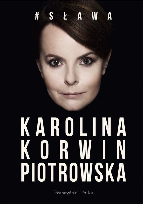 okładka # Sława, Książka | Piotrowska Karolina Korwin
