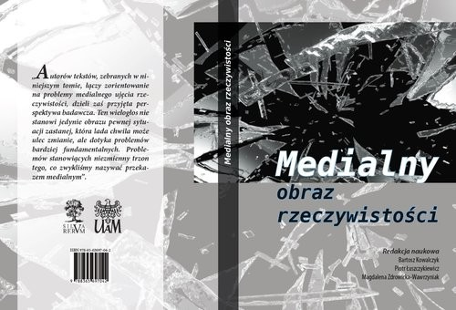 okładka Medialny obraz rzeczywistości, Książka | Zbiorowy